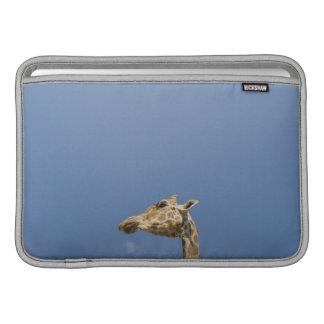 Giraffe's head MacBook sleeve