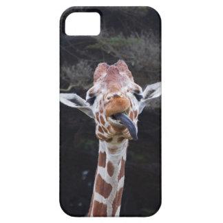 Giraffes I-Got-a Blue Tongue iPhone 5-Cases iPhone SE/5/5s Case