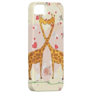 Giraffes in Love iPhone 5 Case