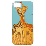 Giraffes In Love iPhone 5 Cases