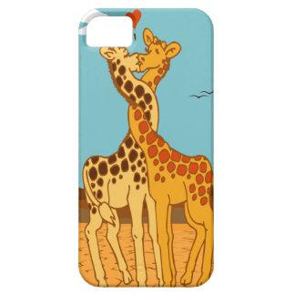 Giraffes In Love iPhone SE/5/5s Case