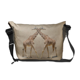 GIRAFFES IN PASSING COURIER BAG