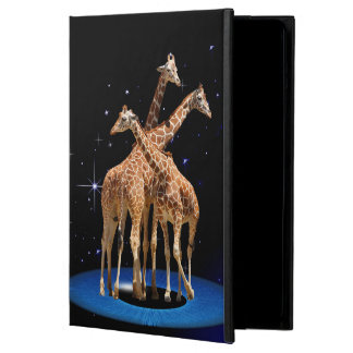 GIRAFFES IN SPACE COVER FOR iPad AIR