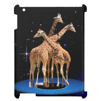 GIRAFFES IN SPACE iPad CASES