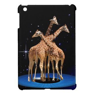 GIRAFFES IN SPACE iPad MINI COVERS