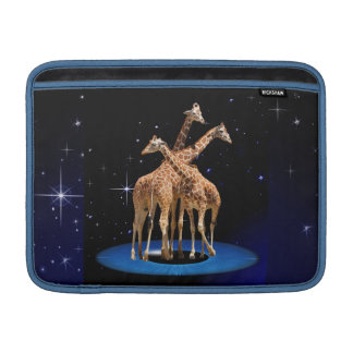 GIRAFFES IN SPACE MacBook SLEEVE