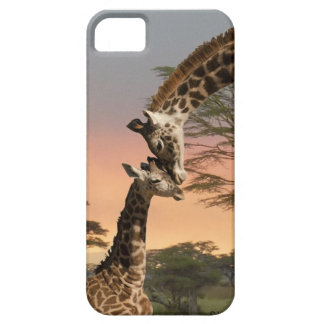 Giraffes iPhone 5 Barely There Case