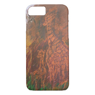 Giraffes. iPhone 7 Case