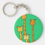 Giraffes Keychains