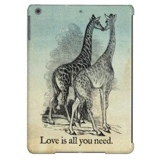 Giraffes Love iPad Air Case