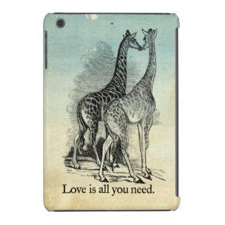 Giraffes Love iPad Mini Cases