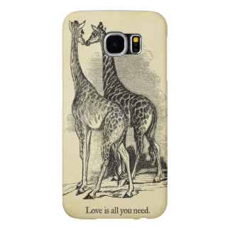 Giraffes Love Samsung Galaxy S6 Case