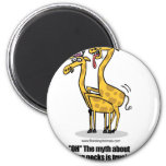 giraffes mating, giraffes boinking refrigerator magnets