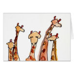 Giraffes • Max Hutcheson, Age 11 Greeting Cards