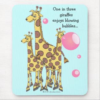 Giraffes! Mouse Pad