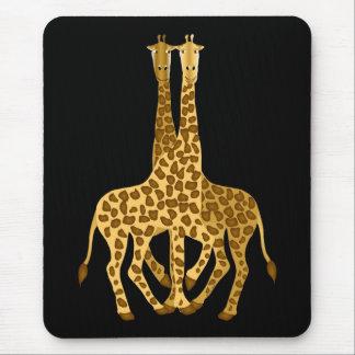 Giraffes Mousepads
