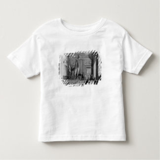 Giraffes on the staircase in the British Toddler T-shirt