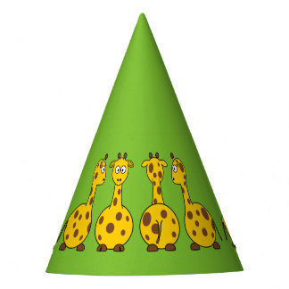 Giraffes Party Hat