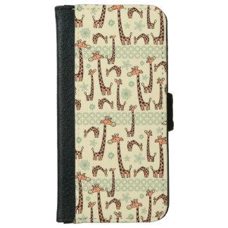Giraffes iPhone 6 Wallet Case