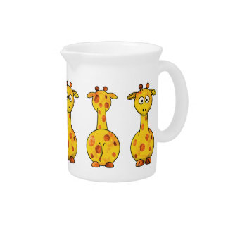 GIRAFFES Pitcher