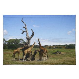 Giraffes Placemat