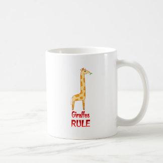 Giraffes Rule Coffee Mug