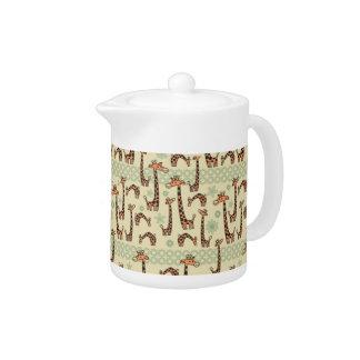 Giraffes Teapot