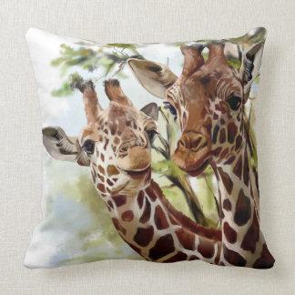 Giraffe Pillows Decorative Amp Throw Pillows Zazzle