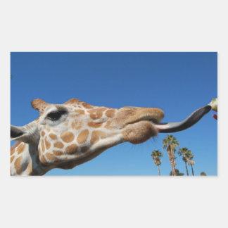 GiraffeSticker Rectangular Sticker