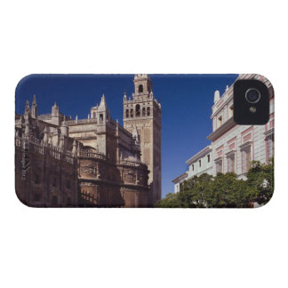 Giralda bell tower and cathedral, Madrid, Spain iPhone 4 Cover
