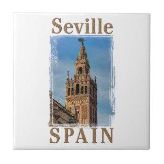 Giralda Bell Tower, Seville, Spain Ceramic Tile