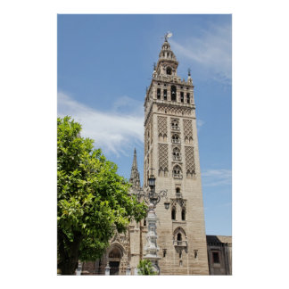 Giralda del poster de Sevilla