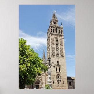 Giralda of Seville Poster