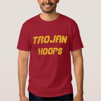 Girard, camiseta del Trojan de la High School Playeras