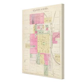 Girard, Crawford County, Kansas Canvas Print