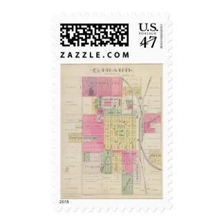 Girard, Crawford County, Kansas Postage