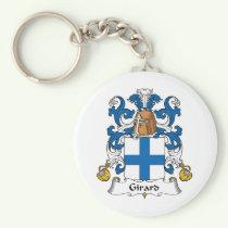 Girard Family Crest Keychain