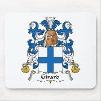Girard Family Crest Mousepad