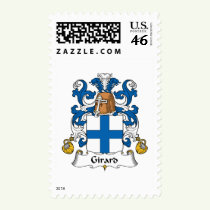 Girard Family Crest Stamps