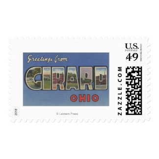 Girard, OhioLarge Letter ScenesGirard, OH Stamps