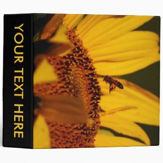 Girasol, abeja y significado