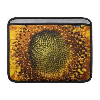 Girasol amarillo funda  MacBook