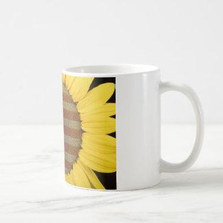 Girasol americano taza de café