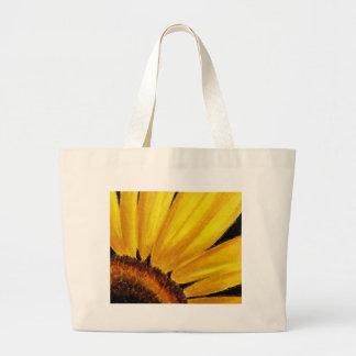 Girasol brillante - impresión en colores pastel bolsas