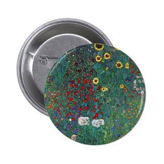 Girasol de Farmergarden Klimt flores del vintage Pin