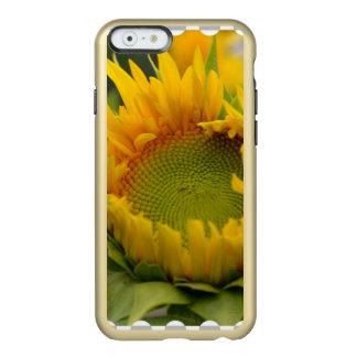 Girasol de florecimiento funda para iPhone 6 plus incipio feather shine