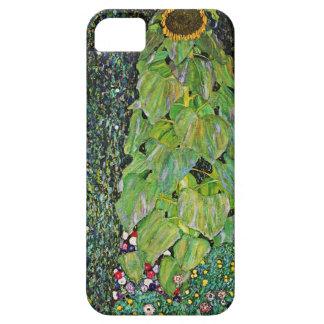 Girasol de Gustavo Klimt iPhone 5 Fundas