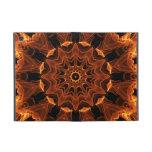 Girasol de la llama, flor anaranjada abstracta del iPad mini cobertura