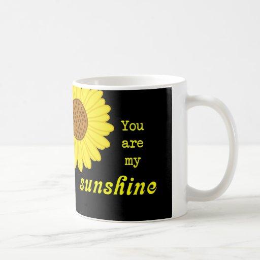 Girasol de la sol taza