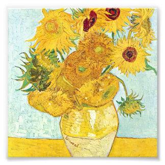 girasol de Vincent van Gogh, impresionista p del Fotografías